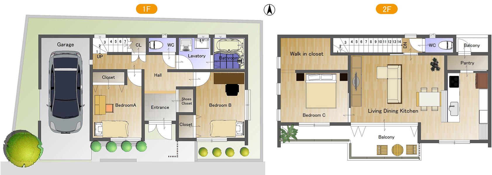 ゼロエネルギー住宅モデルプラン